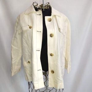 Chico's Linen/cotton blend Jacket NWOT